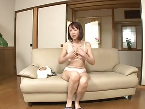 Non-native Japanese chick in Hottest Solo Girl JAV video watch show