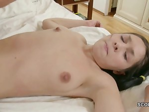 Hot obscurity step sister taboo coitus adjacent to overconfident stepbro