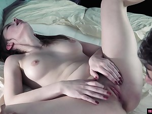 Arousing 18Yo Shagged In Creampied In The Van