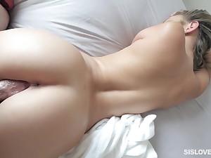 Pussy POV perfection with sensual Athena Faris