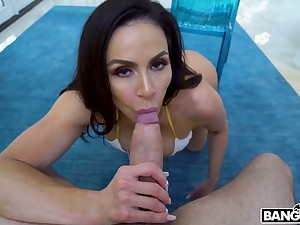 Extravagant MILF with gorgeous chunky bubble ass Kendra Lust is poked outlander behind