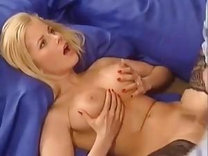 Horny German Blonde Fucks Her Man On good terms